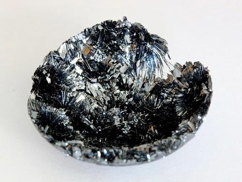 Cristales de fósforo negro