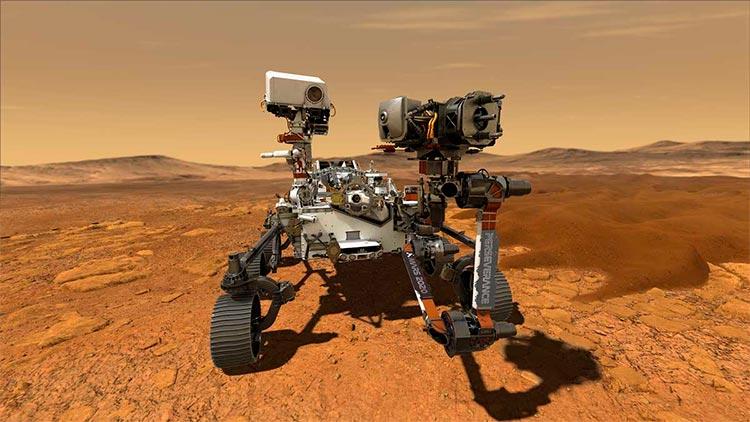 El rover Perseverance
