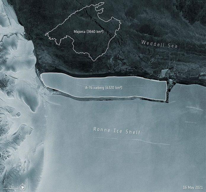 Iceberg A-76