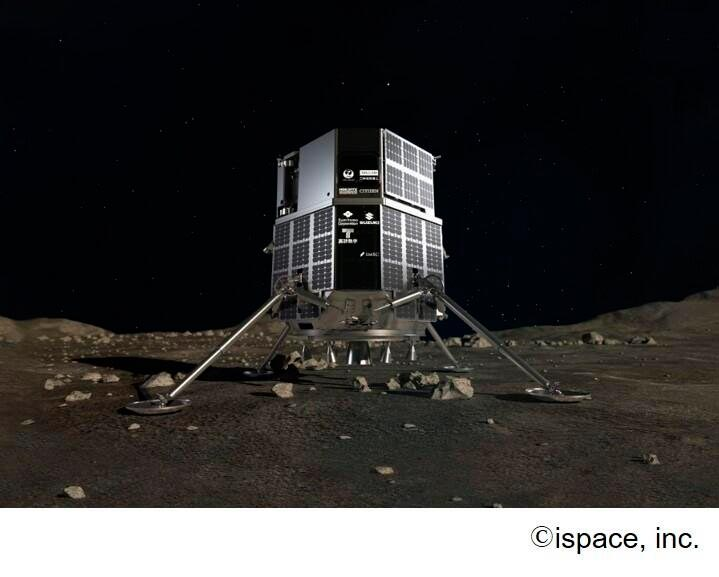 Módulo de aterrizaje lunar ispace