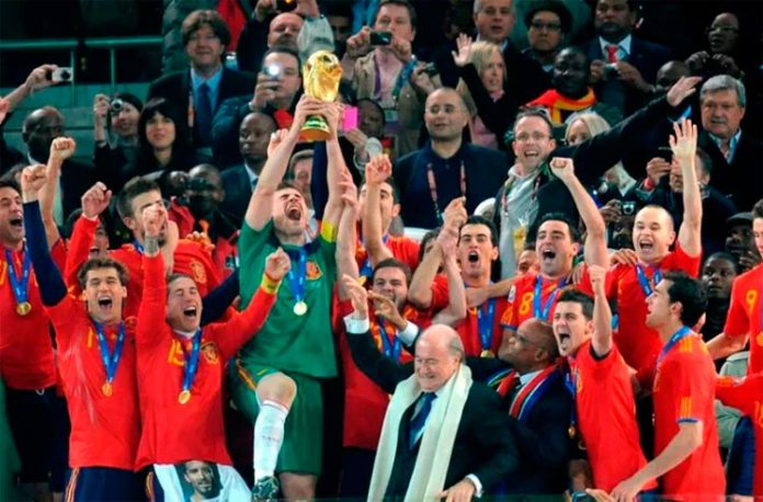 La Roja, Campeona del Mundo 2010