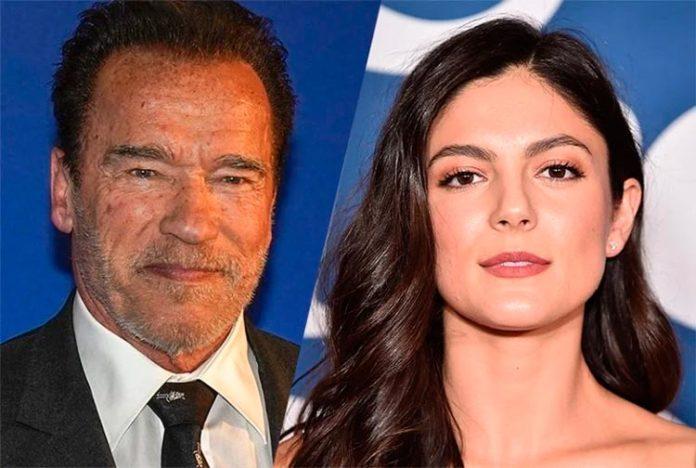 Arnold Schwarzenegger y Monica Barbaro