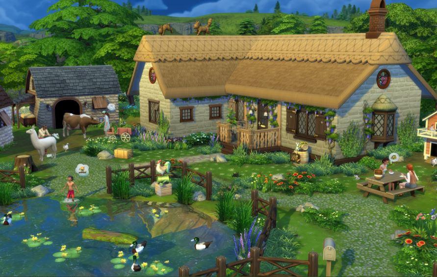 Los Sims 4 Vida en el pueblo