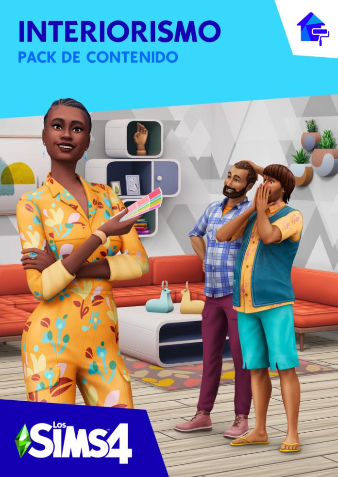 Portada Los Sims 4 pack de interiorismo