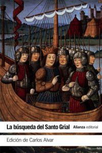 Portada de La búsqueda del Santo Grial, de Carlos Alvar (ed.)