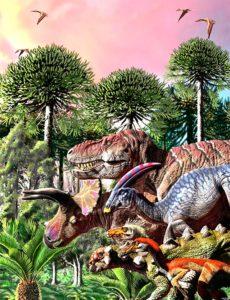La última marcha de los dinosaurios