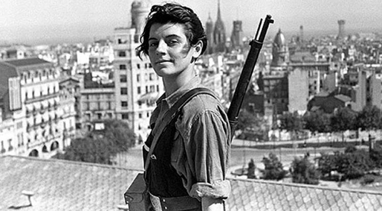 Guerra Civil Española: miliciana