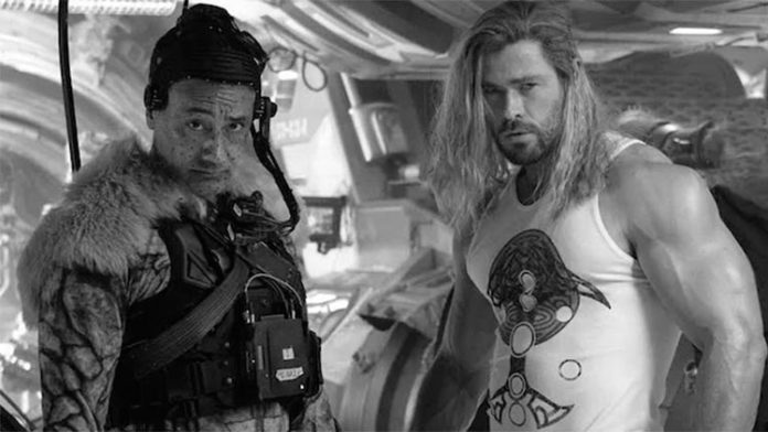 Set de rodaje de Thor: Amor y trueno