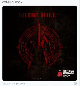 Silent Hill tweet Konami