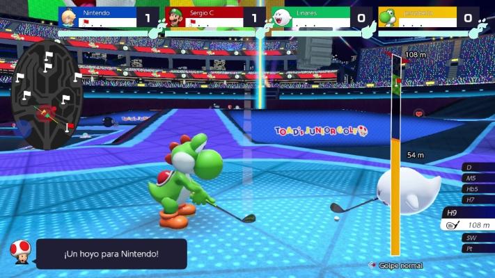 Mario Golf Super Rush - 1
