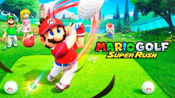 Mario Golf Super Rush - portada