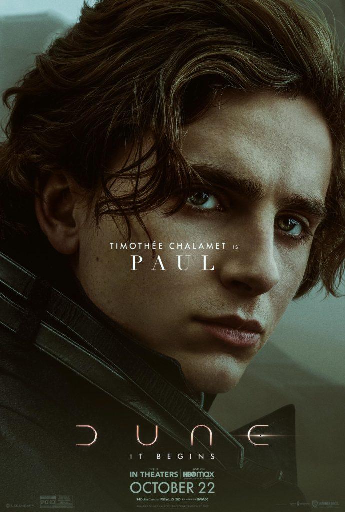 Paul Atreides en Dune (Denis Villeneuve)