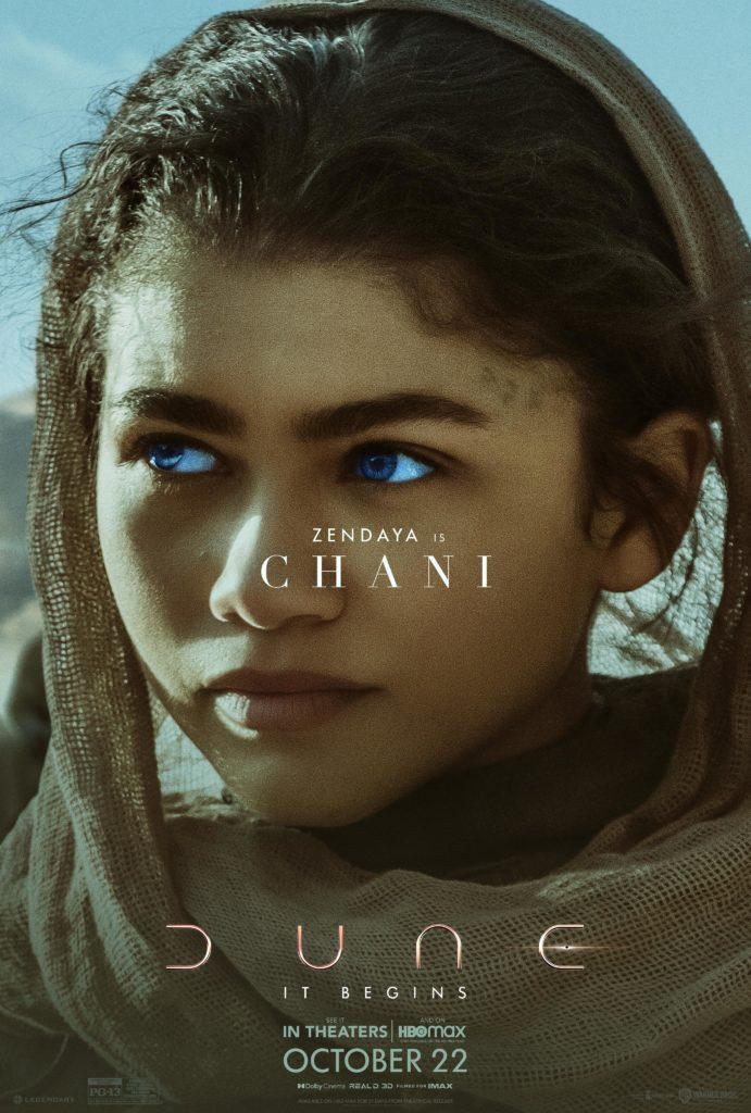 Chani en Dune (Denis Villeneuve)