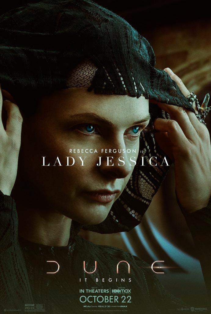 Dama Jessica en Dune (Denis Villeneuve)