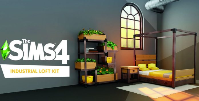 Los Sims 4 kit loft industrial