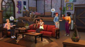 Los Sims 4 Loft Industrial kit