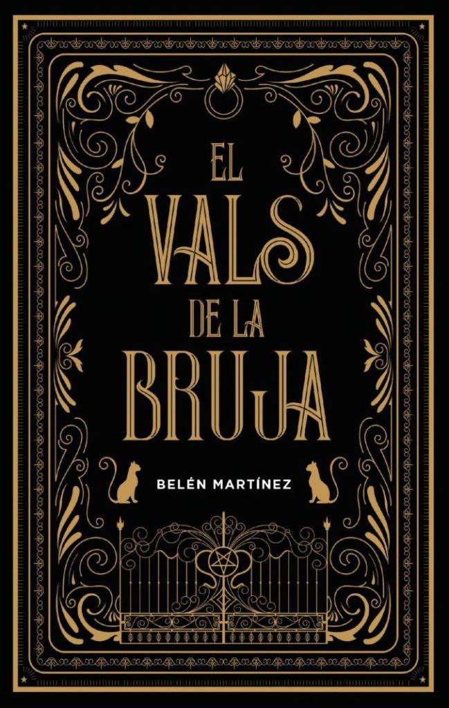 "Portada de ""El vals de la bruja"" de Belén Martínez.   Fuente: Editorial Puck."