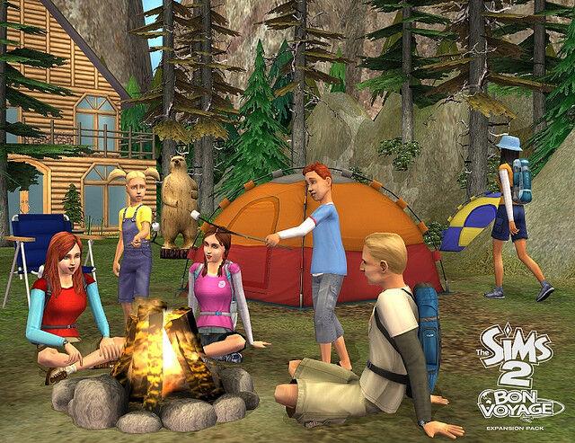 The Sims Bon Voyage