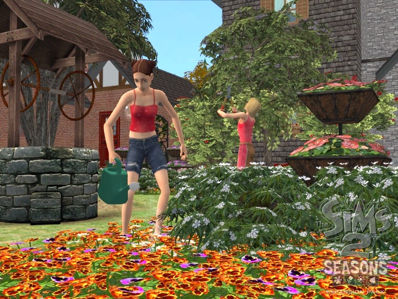 Los Sims 2 y las cuatro estaciones
