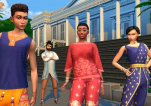 Sims 4 Street Fashion kit