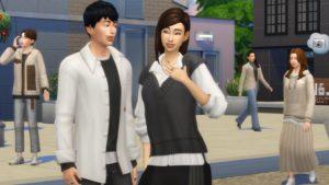 Sims 4 moda de aeropuerto
