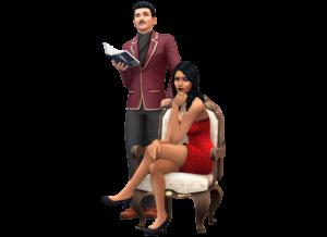 Los Sims 4 render