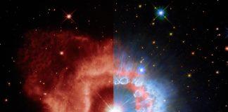 Imagen del 31 aniversario de Hubble: Dos nuevas vistas de la estrella AG Carinae