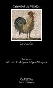 Portada de Crótalón, de Cristóbal de Villalón