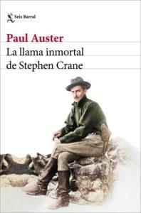 Portada de La llama inmortal de Stephen Crane