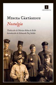 Portada de Nostalgia, de Mircea Cărtărescu