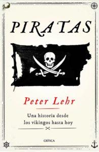 Portada de Piratas, de Peter Lehr