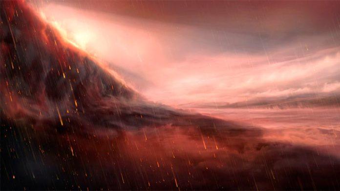 El exoplaneta ardiente WASP-76b, un llamado Júpiter caliente, donde llueve hierro, puede estar más caliente de lo que se pensaba