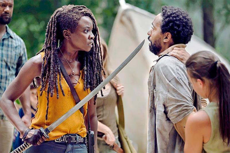 The Walking Dead: Michonne y su katana